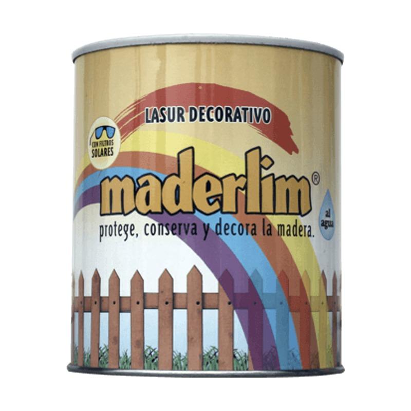 lasur decorativo maderlim - protege conserva y decora la madera